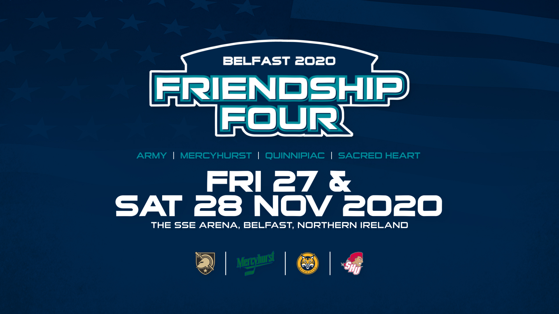 The Friendship Four Hockey Tournament Returns to The SSE Arena, Belfast